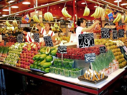 supermarket в испании
