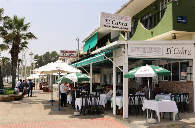 Лучшие Chiringuitos и рестораны Малаги с видом на море