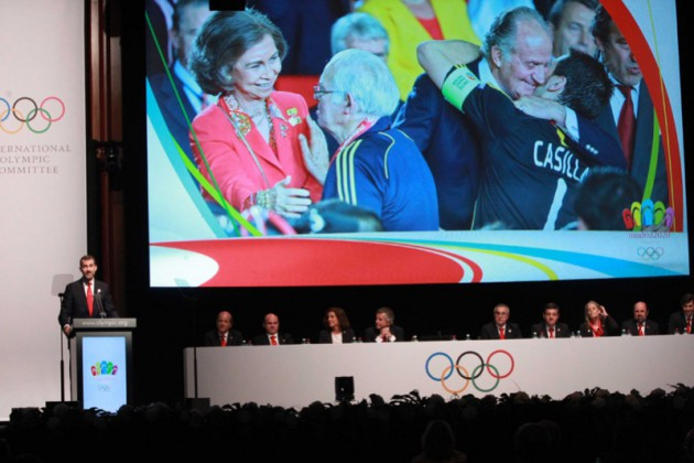 Олимпиада в Мадриде
