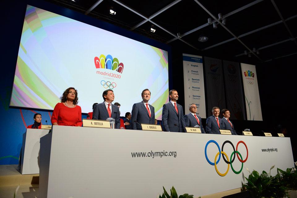Мадрид 2020 кандидат Город презентация на сессии МОК