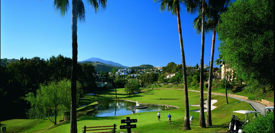 гольф недвижимость в Пуэрто Банус