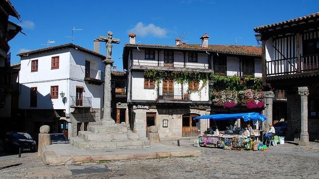 самые красивые деревни Испании la alberca salamanca