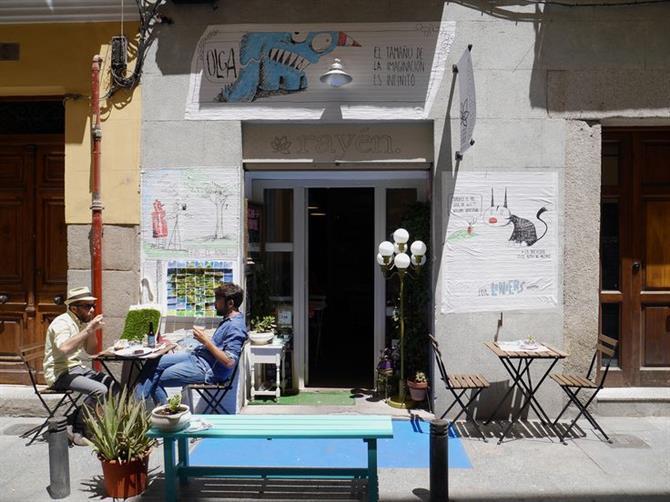 рестораны для веганов в Испании.