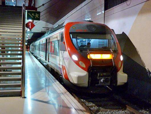 транспорт в испании поезда