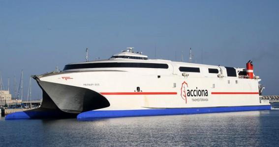 транспорт в испании скоростные судна
